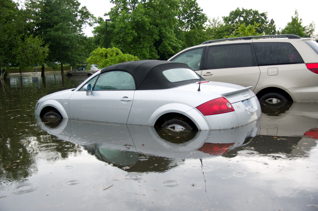 Flooded Vehicle